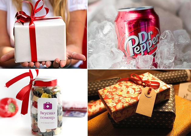 Заказ новогодних подарков