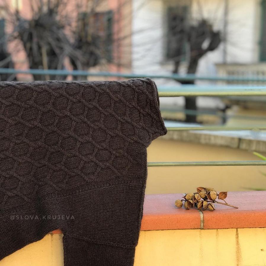 свитер из пуха яка sarlag