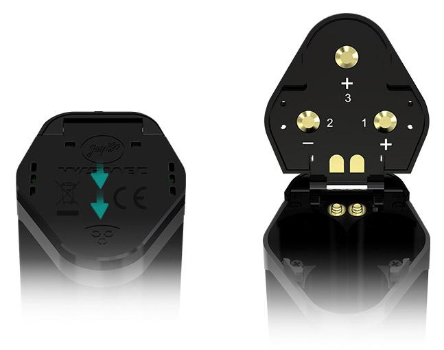 Откидная Крышка Батарейного Отсека для Простой Замены батареек Боксмода WISMEC Reuleaux RX GEN3