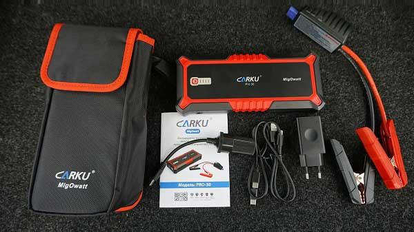 Комплектация пускового устройства Carku (карку) PRO30