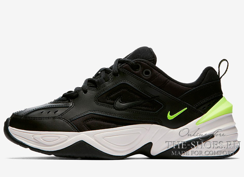 Nike M2K Tekno Black Green