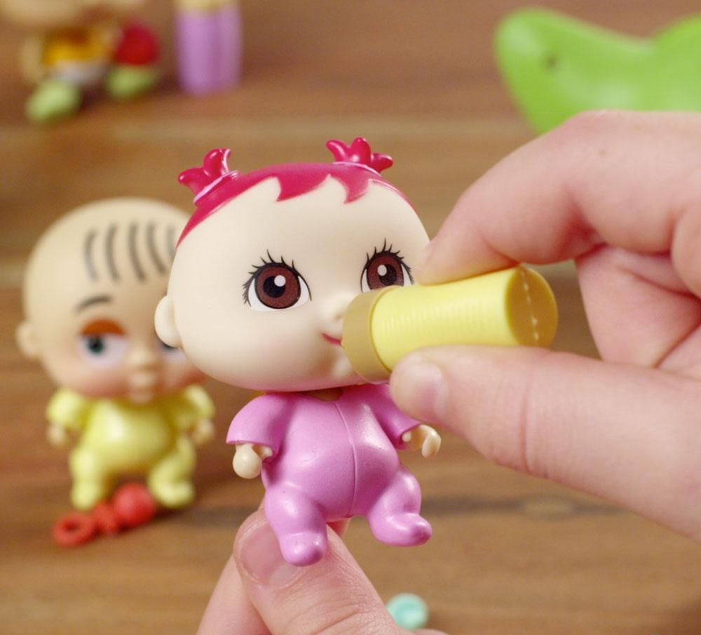 крошки-горошки 1 Toy пупсы в стручке