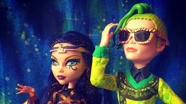 Набор кукол Клео Де Нил и Дьюс Горгон - серия Бу Йорк, Бу Йорк