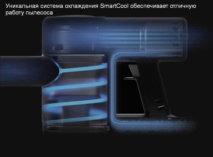 Беспроводной ручной пылесос Xiaomi Dreame V9 Vacuum Cleaner  мощный аккумулятор