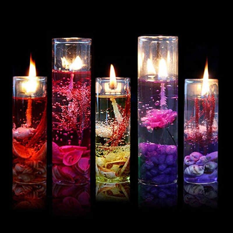 Красивые гелевые свечи