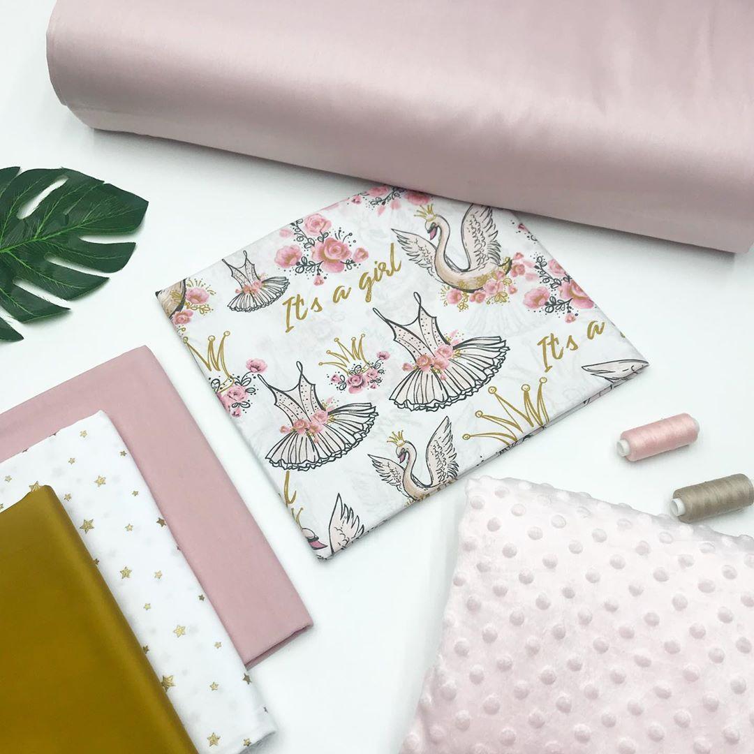 Купить ткани для пошива одежды для девочки