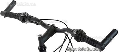 Крепление велосипедных рогов в торцах руля