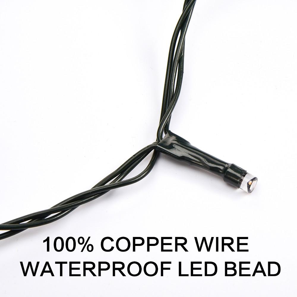 нить 10 метров зеленая светодиод 100led