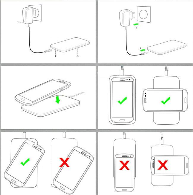 как использовать wireless charger