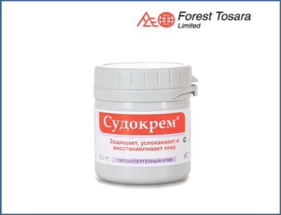 Скудокрем - крем для лечения и профилактики дерматита. фото