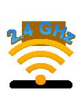 Logitech Advanced 2.4 GHz wireless connectivity