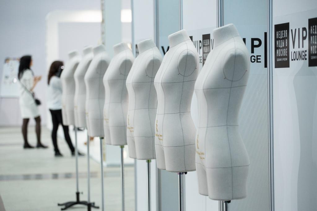 Выставка-экспозиция профессиональных портновских манекенов Royal Dress forms на Московской неделе моды