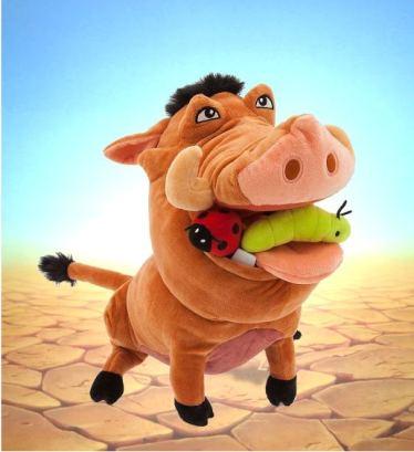 """Игрушка Пумба (Pumbaa) из мульфильма """"Король Лев"""""""