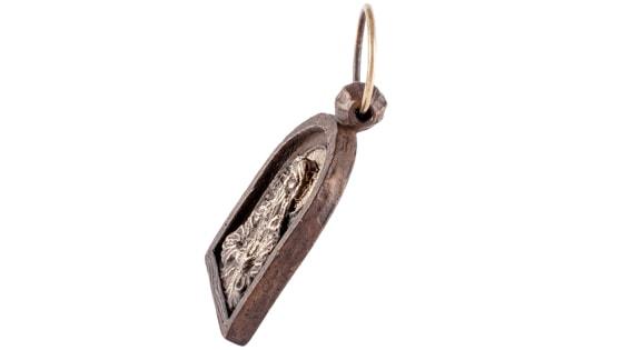 Подвеска икона Пророк Илья, можно вешать на стену, вес более 60 грамм.