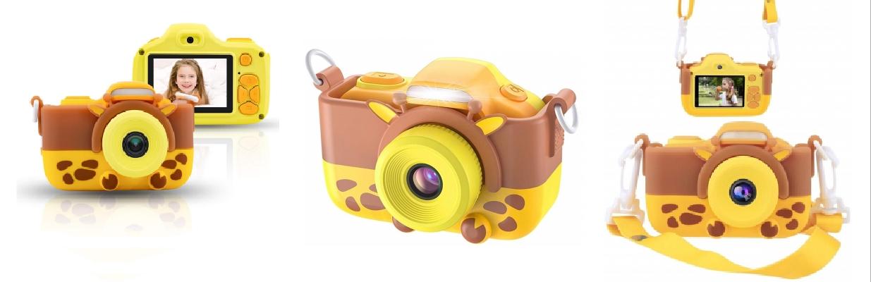 Детский цифровой фотоаппарат Жирафик