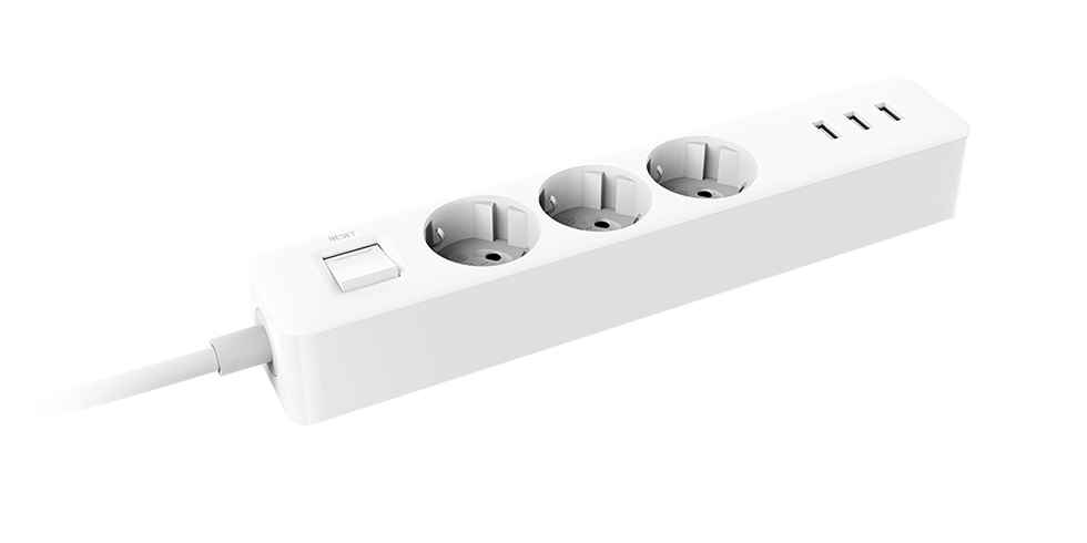 Xiaomi Mi Power Strip 3 розетки 3USB International