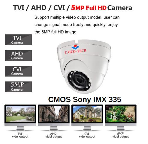 Видеокамера для помещения CAICO TECH CCTV 5Mpix