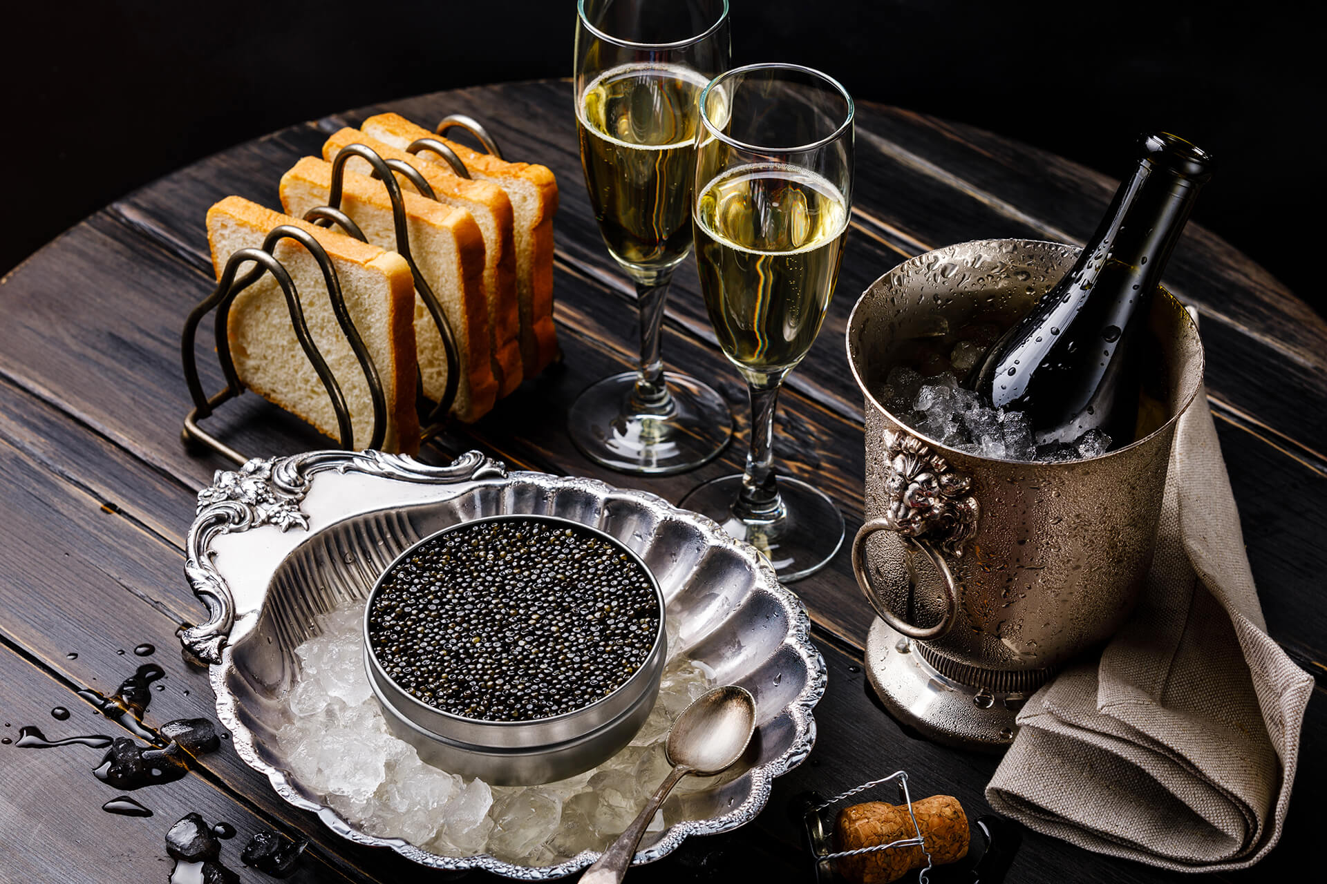 Caviar and Fish