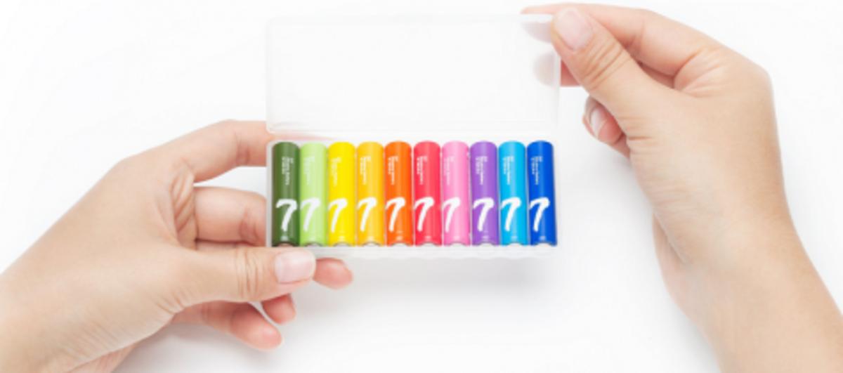 Батарейки Xiaomi Rainbow 7 AAA 10шт