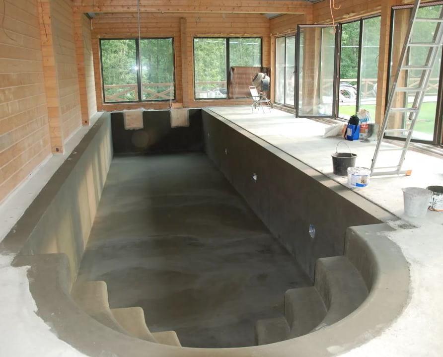 Битумная мастика бассейн