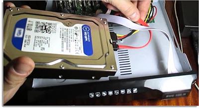 Поинтересуйтесь совместимостью жесткого диска с конкретной моделью регистратора