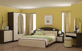 АЛЕКСАНДРИЯ Набор мебели для спальни