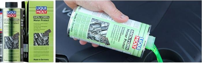 Молиген присадка для защиты мотора от износа