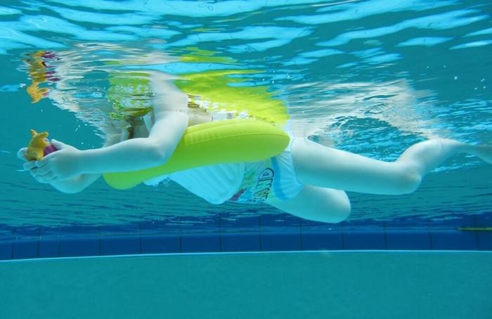 Круг для детей Swimtrainer желтый