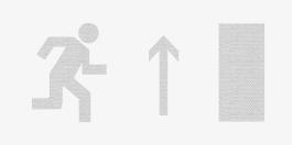 Направление к выходу прямо (правосторонний) - Молния ULTRA