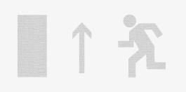 Направление к выходу налево (правосторонний) - Молния ULTRA