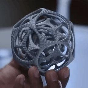 Готовый распечатанный объект