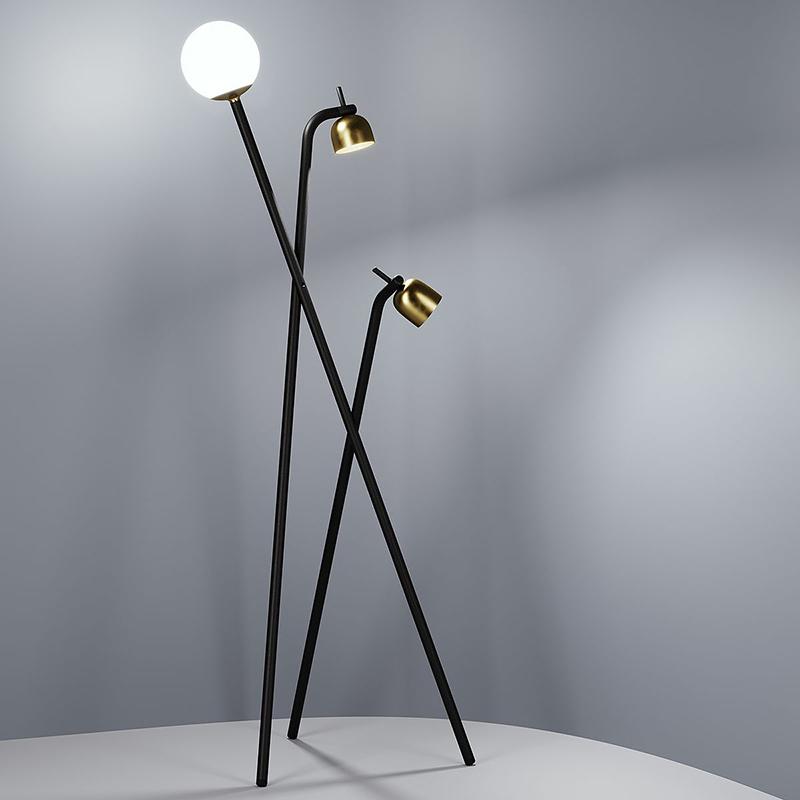 Светильники Tripod от Fontana Arte