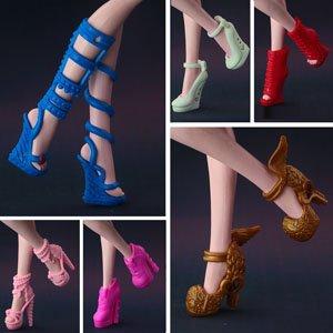 Туфли красные для кукол
