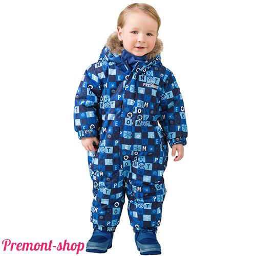 Комбинезон для мальчиков Premont Голубые льдинки