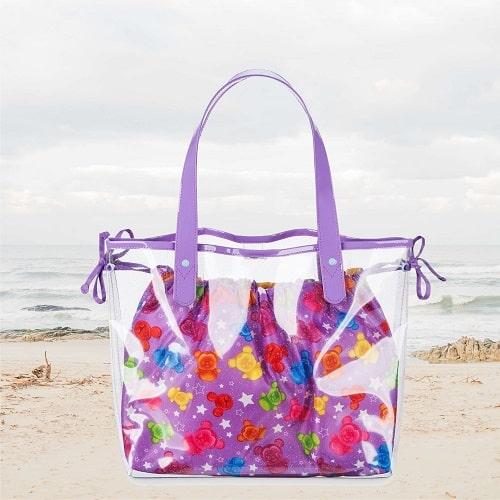 Пляжное полотенце Рапунцель (комплект с сумкой)
