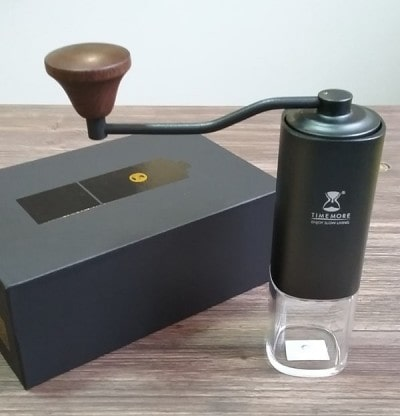 Кофемолка Timemore G1 и подарочная коробка
