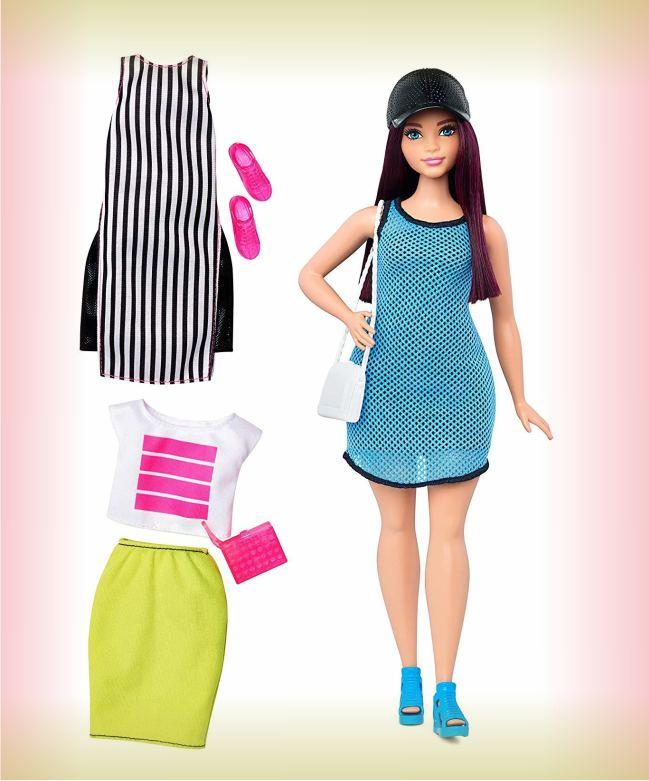 Barbie Брюнетка Спорт Fashionistas