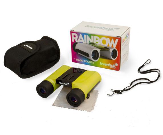 Бинокль Levenhuk Rainbow 8x25 Lemon: комплект поставки