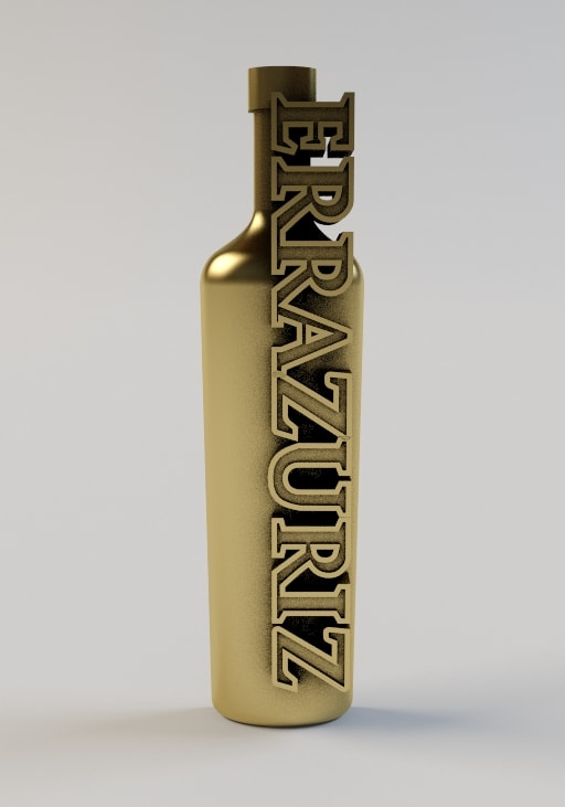 3D прототип нагрудного знака Errazuriz