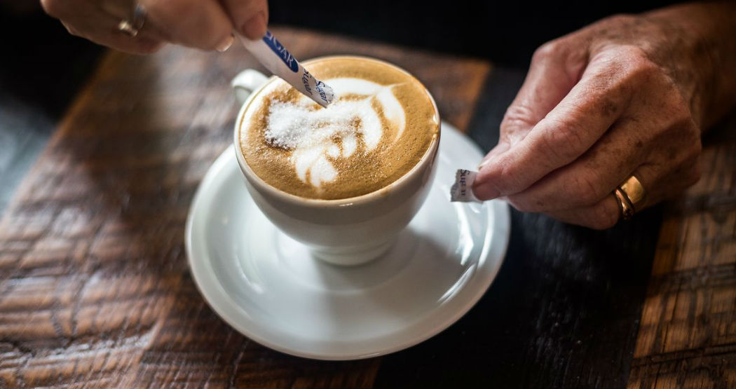 Так выглядит кофе латте