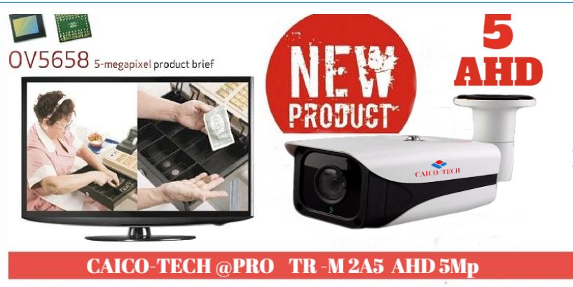 CAICO TECH AHD 5Mpix NEW