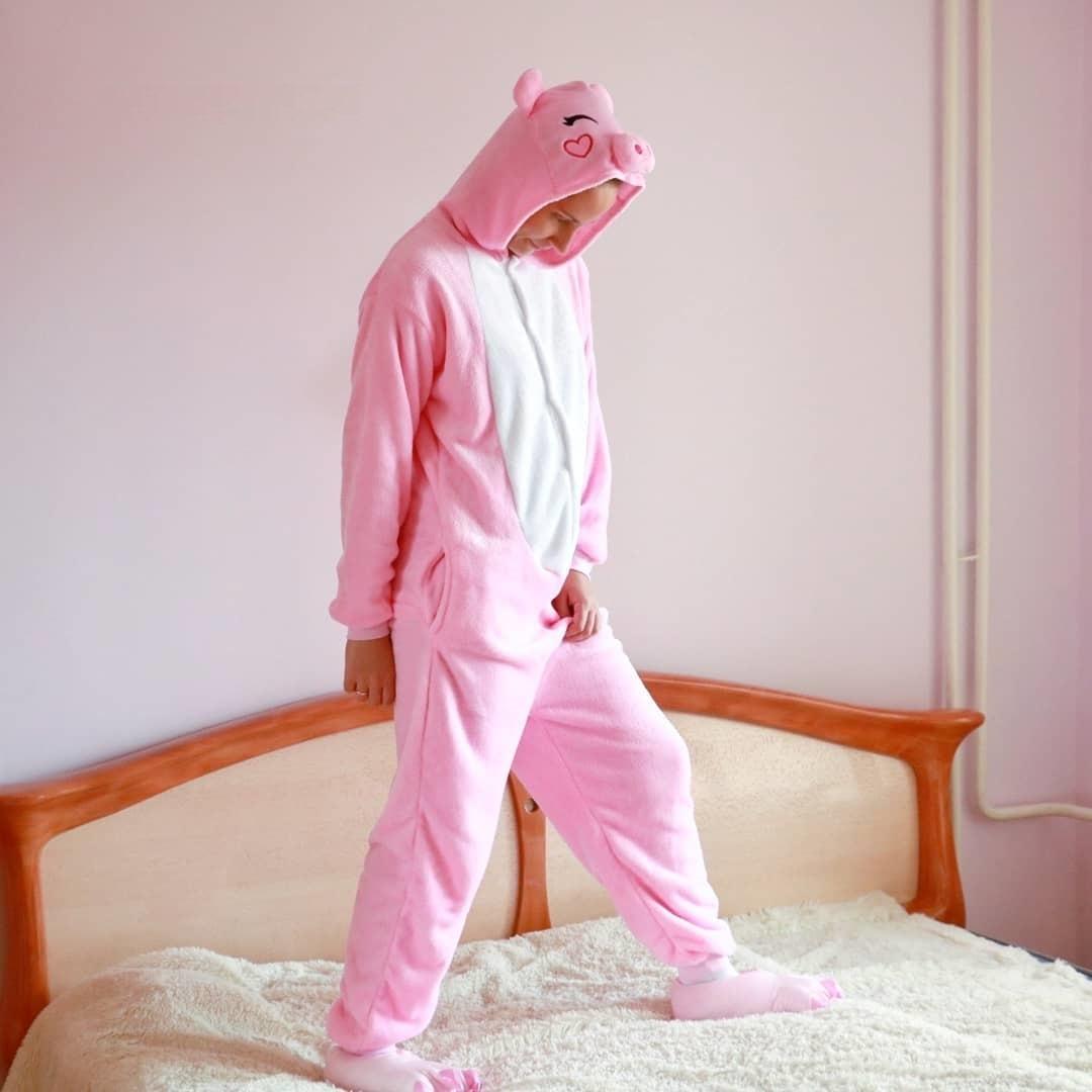 костюм розовый поросенок
