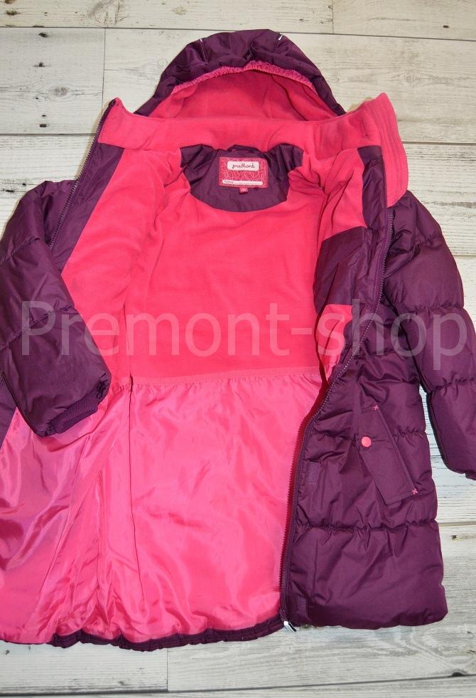 Флис на пальто Premont Ягодный смузи
