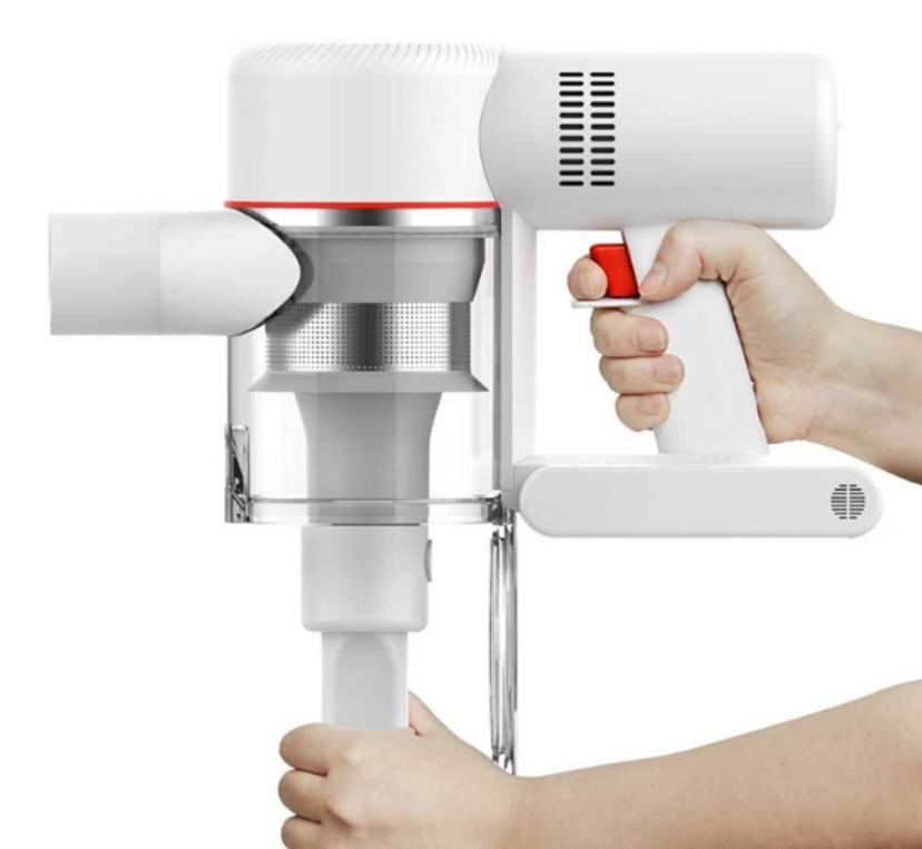 Беспроводной ручной пылесос Xiaomi Dreame V9 Vacuum Cleaner  циклонная система