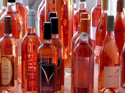 Рост популярности розового вина