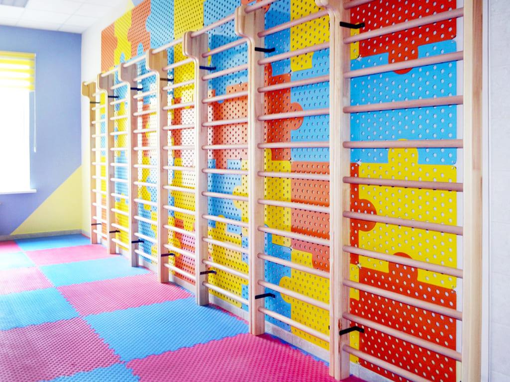 Оформление спортивного зала в детском саду