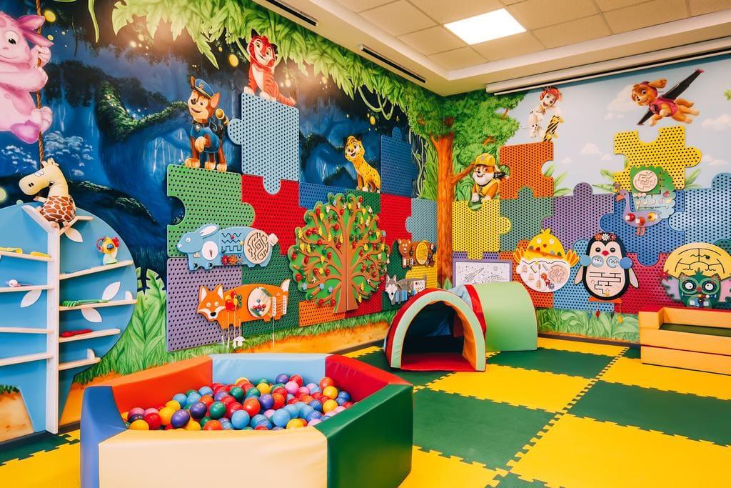 Дизайн детского интерьера в ДОУ