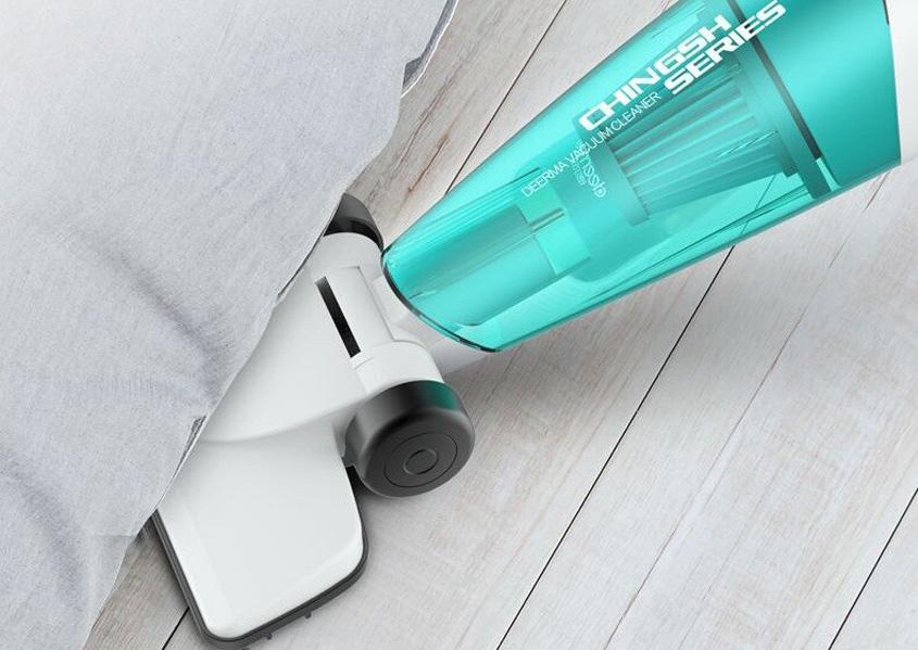 Ручной пылесос Deerma Suction Vacuum Cleaner EU (DX118C)