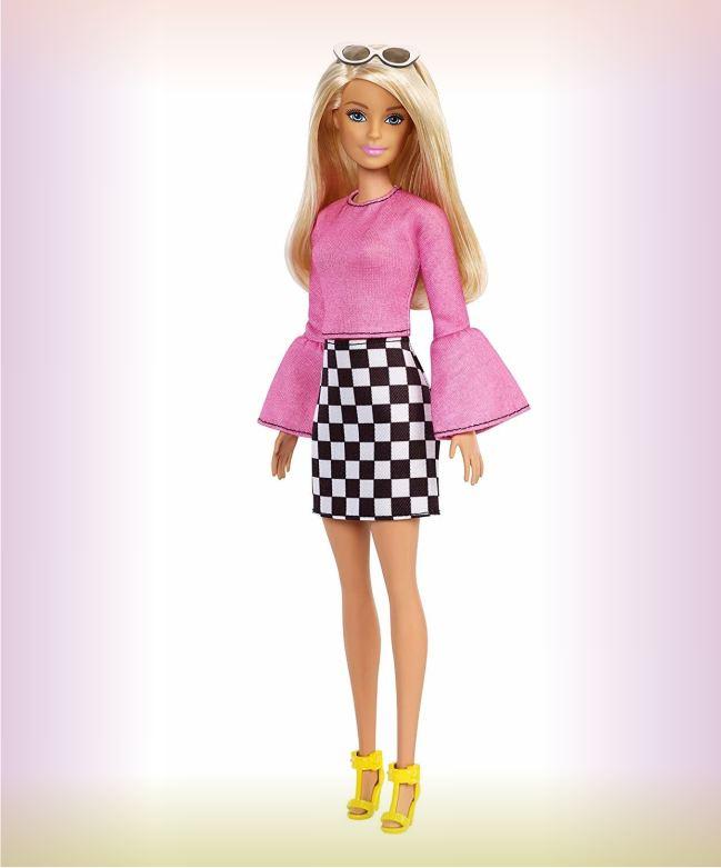 Кукла Barbie из серии Игра с модой 104