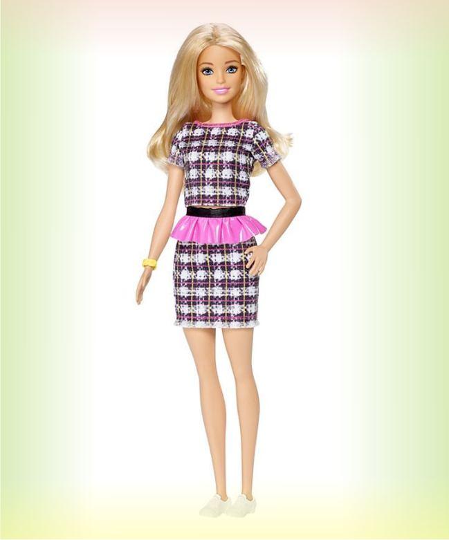Кукла Barbie из серии Игра с модой 104 (крупный план фото)